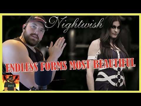 The Mostest Beautiful!! | Nightwish - Endless Forms Most Beautiful (LYRIC VIDEO) | REACTION