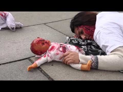 "BDS Norge - ""30 seconds in Gaza"" - Land Day 2015"