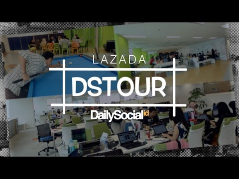 Kantor Bersama Lazada Indonesia | DStour #14