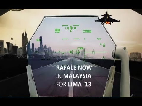 Day 3 Dassault Rafale fighter aircraft at Lima 2013 international aerospace defence Air Show