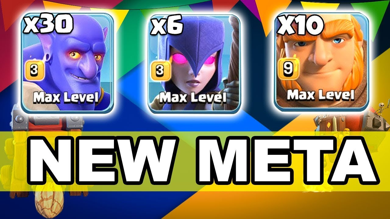 30 Max Bowler 6 Max Witch 10 Max Giant | New Meta Ground Army 3 Star Th12 | New Th12 War Style 2018
