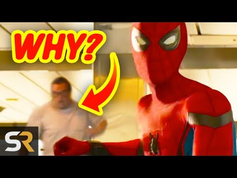10 Spider-Man Homecoming Mistakes That Are Already Found