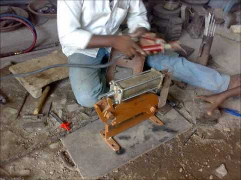 How To Make Hydraulic Sheet Cutter Hydraulic Mechanical