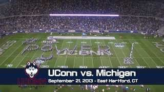 UCMB Halftime - UConn vs. Michigan (9/21/13) Feat. UConn Women