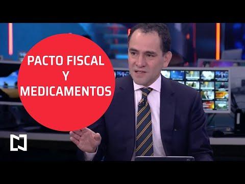 Entrevista I Pacto fiscal y la adquisición de medicamentos; Arturo Herrera, secretario de Hacienda