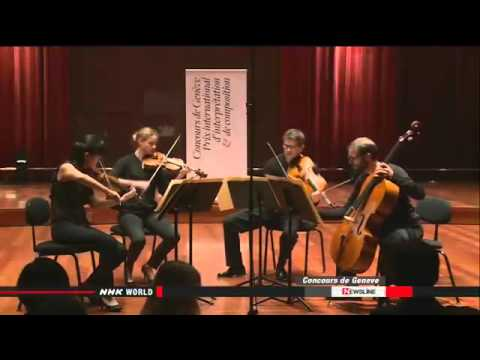 ► Japanese wins Composition Prize in Geneva contest