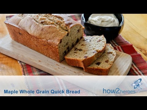 Maple Whole Grain Quick Bread