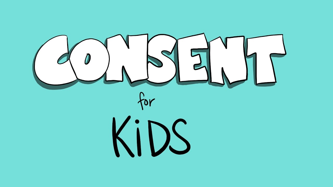 consent for kids YouTube
