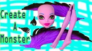 Create A Monster High Harpy Girl Doll Add On Starter Pack CAM Playset Set Cookieswirlc
