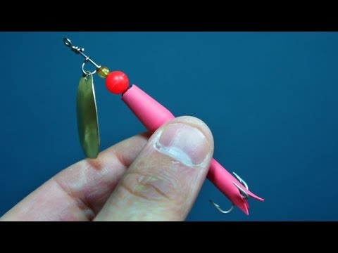 How To Make A Flying C Spinner Fishing Lure
