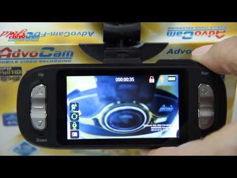 Видеорегистратор AdvoCam-FD8 Gold-GPS (1296p/30fps / 1080p/60fps) модель 2015 года