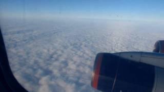 Шереметьево, руление и взлет Ил-96 Аэрофлота