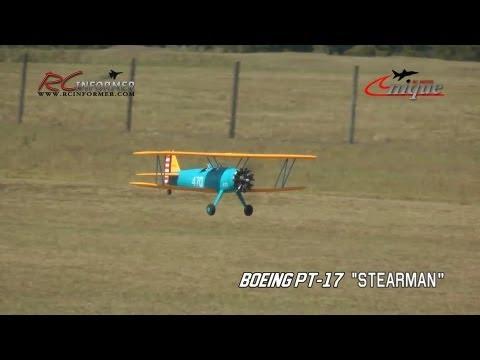 Unique Models Boeing PT-17 Build Guide by: RCINFORMER.COM