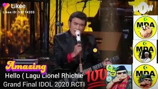 Download Hello ( Lagu Lionel Rhichie Grand Final IDOL 2020 RCTI