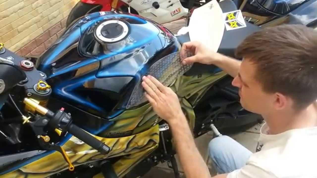 Установка успокоителя цепи на мотоцикл Рейсер Пантера - YouTube