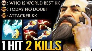 World Best Kunkka Players x2 Divine Rapier Hard Carry - Attacker 8k mmr Player Dota 2