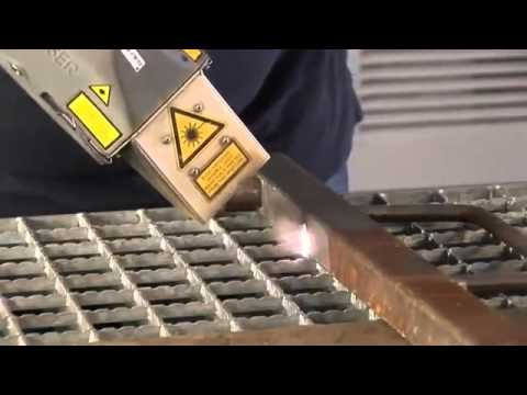 Laser Cleaning Applications Bitumen Foam And Rust Removal