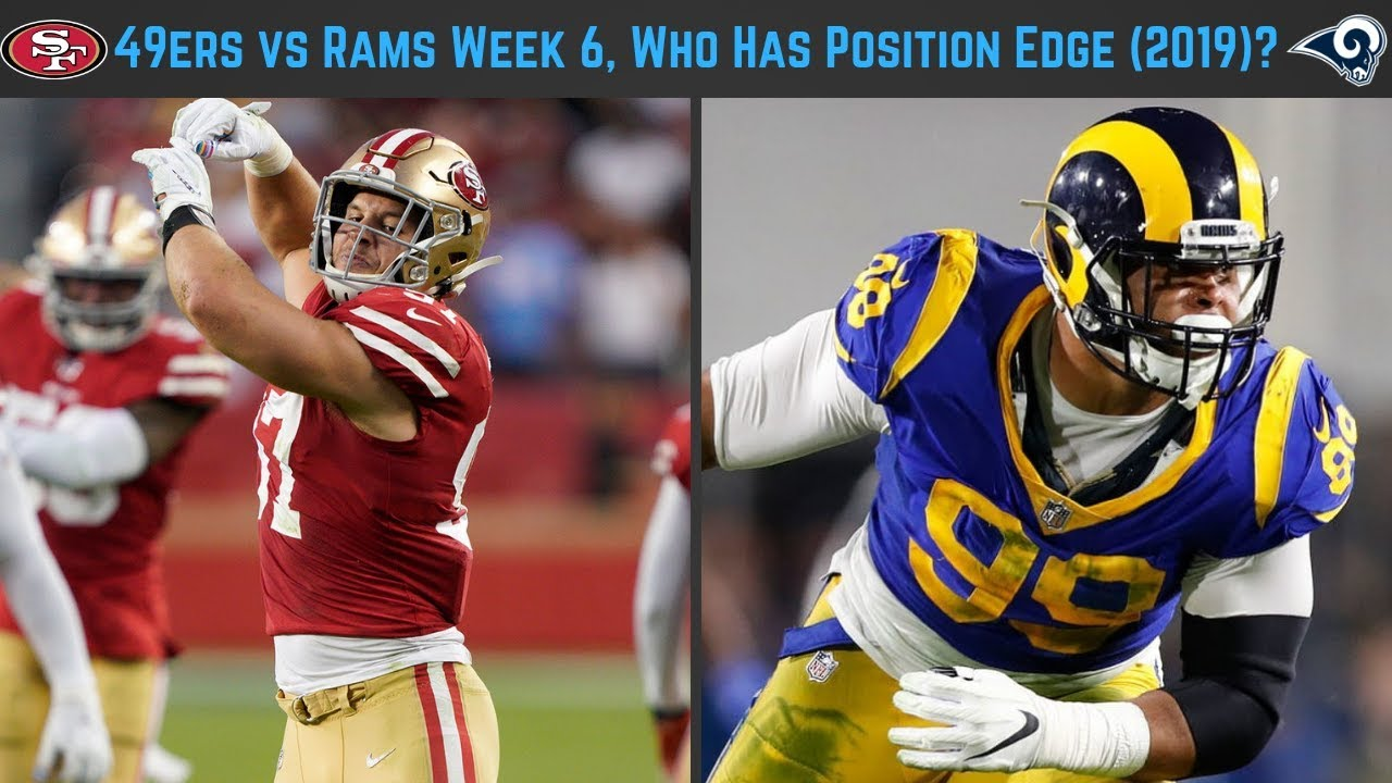 Does the 49ers' defense have an inside edge on Rams?