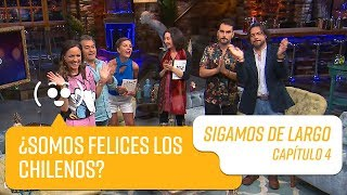 Capítulo 4: Elsa Punset, Pato Torres y Enzo Gnecco   Sigamos de Largo 2019