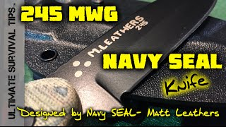 NEW! MWG 245 - Navy SEAL Knife - Buck Knives - SHOT Show 2015 - Combat / Utlility / Survival Blade