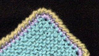 Reverse Single Crochet or Crab Stitch Border