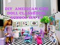 DIY American Girl Doll Classroom/School Set Up