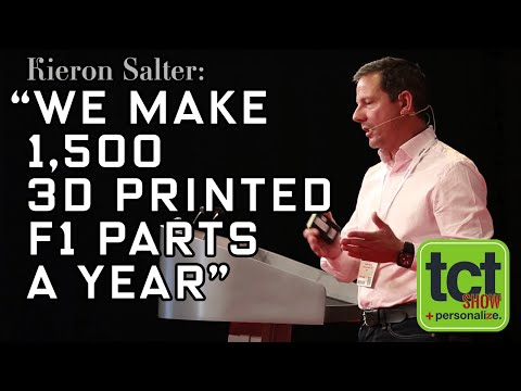 3D Printing Accelerates Le Mans Racecar | Kieron Salter | KWSP | TCT Show