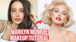 Marilyn Monroe Makeup Tutorial With Erin Parsons + Emily DiDonato