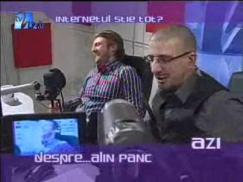 Alin Panc - Invitat la Internetul stie tot?