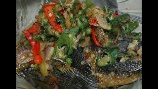 Resep Ikan Sepat Tumis Pedas Mantab