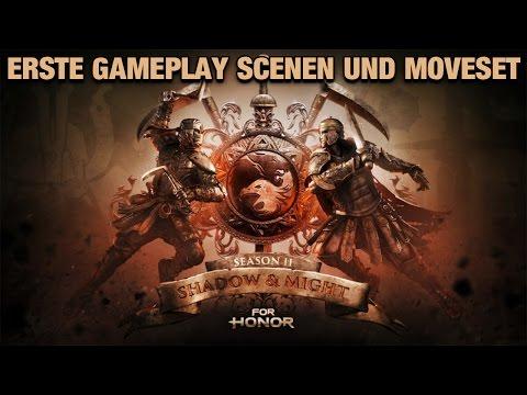 For Honor German - Erste Gameplay scenen und Moveset von Shinobi und Centurion