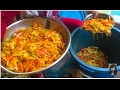 Asian Street Food, Amazing Street Food In Cambodian Market, Food And Life In Asian Market