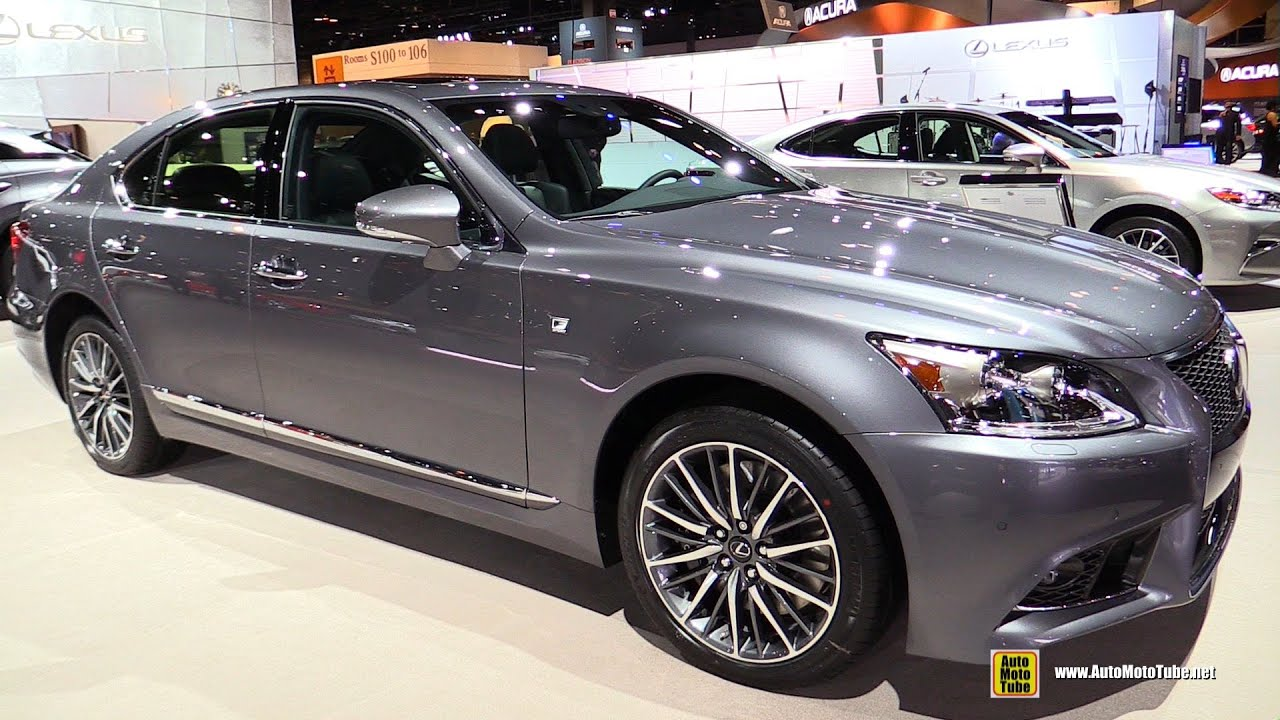 2016 lexus ls460 awd f sport exterior and interior walkaround 2016 chicago auto show youtube. Black Bedroom Furniture Sets. Home Design Ideas