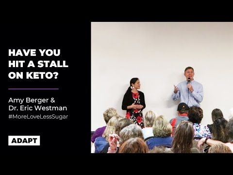 Have You Hit A Stall On Keto? — Amy Berger And Dr. Eric Westman [Live Talk]