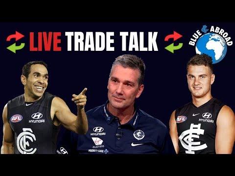 2019 Carlton Trade Talk - Eddie Betts | Dan Butler | Andrew Gaff | SOS & Agresta