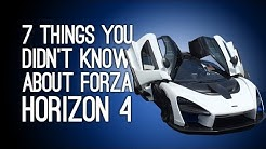 Forza Horizon 4: 7 Things You Didn't Know About Forza Horizon 4