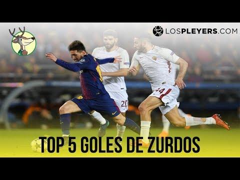 Top 5 Goles de Zurdos