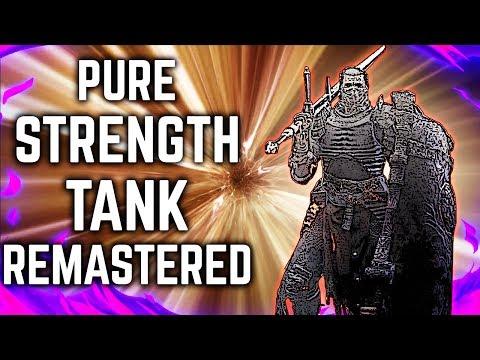 Dark Souls 3 - Pure Strength Tank - Remastered Build