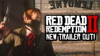 Red Dead Redemption 2 - NEW TRAILER, TRAIN HEIST, JOHN MARSTON & MORE! (BREAKDOWN)