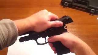полная разборка пистолета Темп 1