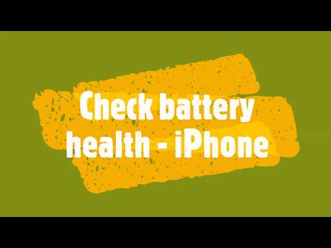 How to check iPhone battery health thumbnail