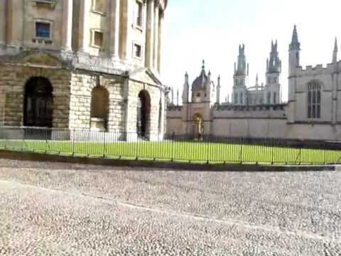 A Walk Through Radcliffe Square and the Bodleian Library, Oxford