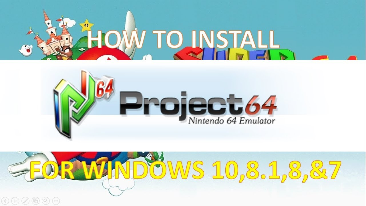 nintendo 64 emulator windows 8.1