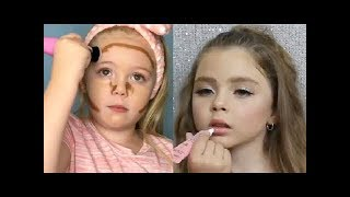 KIDS MAKEUP ON INSTAGRAM  | BEAUTIFUL COMPILATION
