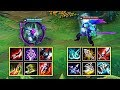 Qiyana Vs Yasuo Full Build Fights Andamp Best Moments