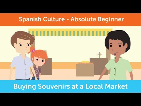 How to Buy Souvenirs at a Local Market in Mexico | Innovative Spanish