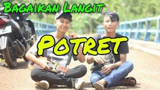 Gambar cover Potret_Bagaikan Langit_-_Cover Ukulele_ft_Uyab Strings