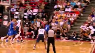 Dreamteam 2012 U.S. Olympic Basketball Team vs Dominican Republic FUll Highlights and Recap P4