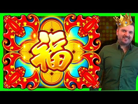 MASSIVE WINNING Using This Bet Strategy on DANCING DRUMS & 88 Fortunes SLOT MACHINE BONUSES W/ SDGuy - 동영상