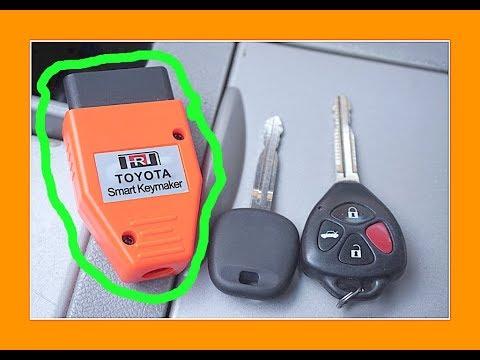 How To Program A Car Key Toyota Smart Keymaker Camry Corolla (El Chano Jose)